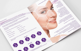 Beauty, Aesthetics, Lip Fillers flyer, brochure and print