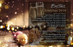 Bertie's Elland, Christmas Party Design