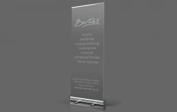Bertie's Elland, Pull Up Banner Design