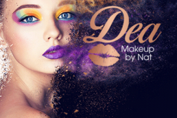 Dea Makeup and Hair Web Design and Branding