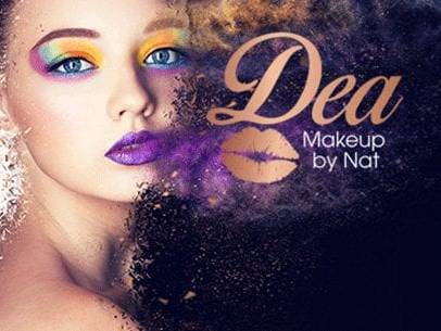 Dea Makeup and Hair Web Design and Branding