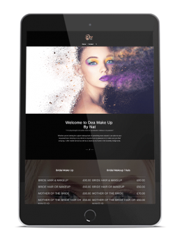Makeup, Hair & Beauty, Branding, Web Design, Print