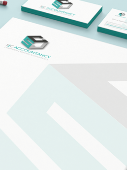 SJC Accountancy Branding,Web Design, Logo Design and Stationary