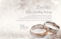 Bertie's Elland, Wedding Design